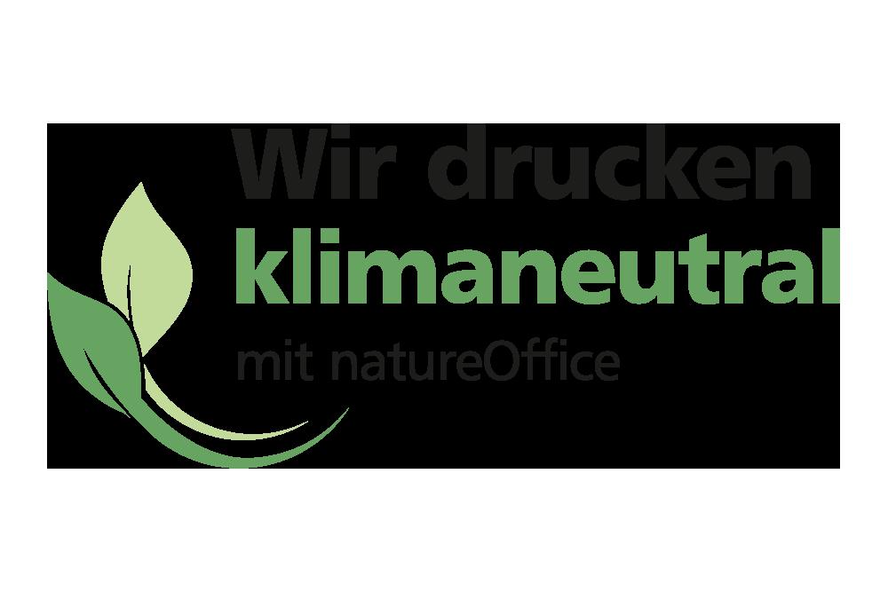 Klimaneutral drucken Logo